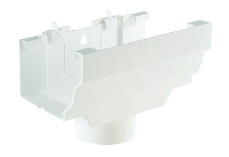 EXPANSION OUTLET 80mm<br /><br /><br /><br /> With Backplate